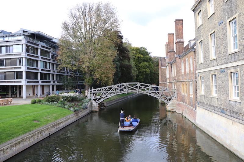 View from Silver Street Bridge, Cambridge