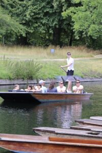 Chauffuered punting tour along the River Cam.